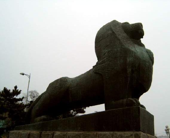 旅顺军港公园狮子口