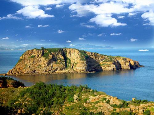 大连棒棰岛风景区图片