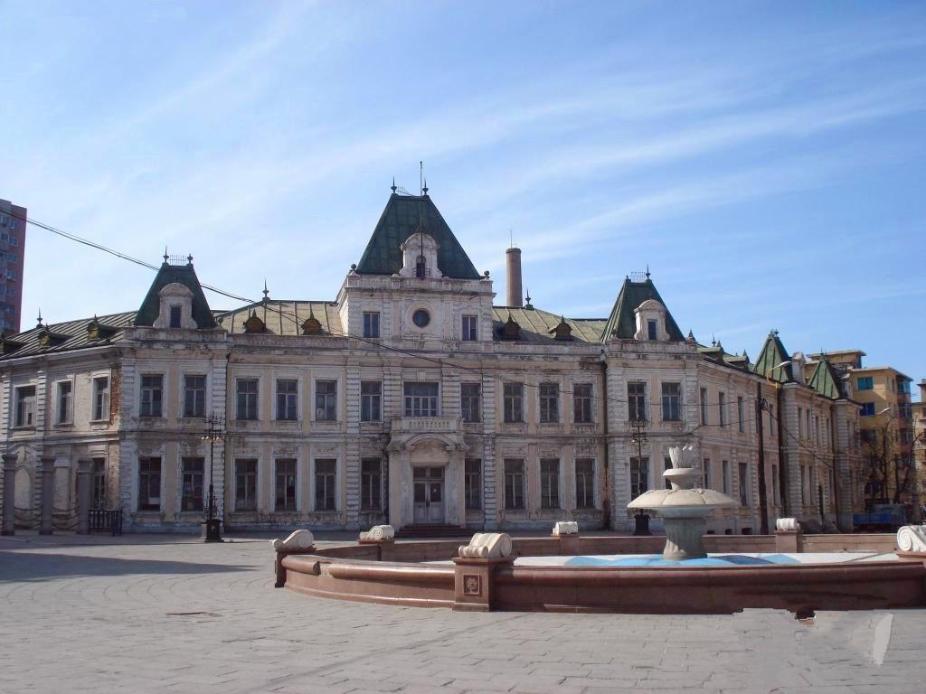 俄罗斯风情街的代表建筑