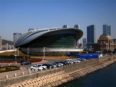 星海广场全新贝壳博物馆