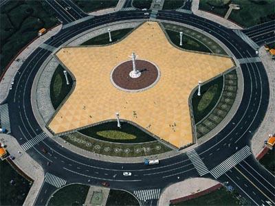 星海广场中心俯瞰